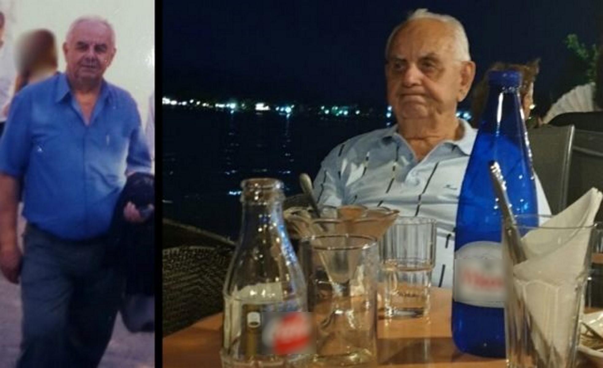 Θρίλερ στη Λαμία: Αγνοείται 81χρονος – «Πήρε το αυτοκίνητο και εξαφανίστηκε»