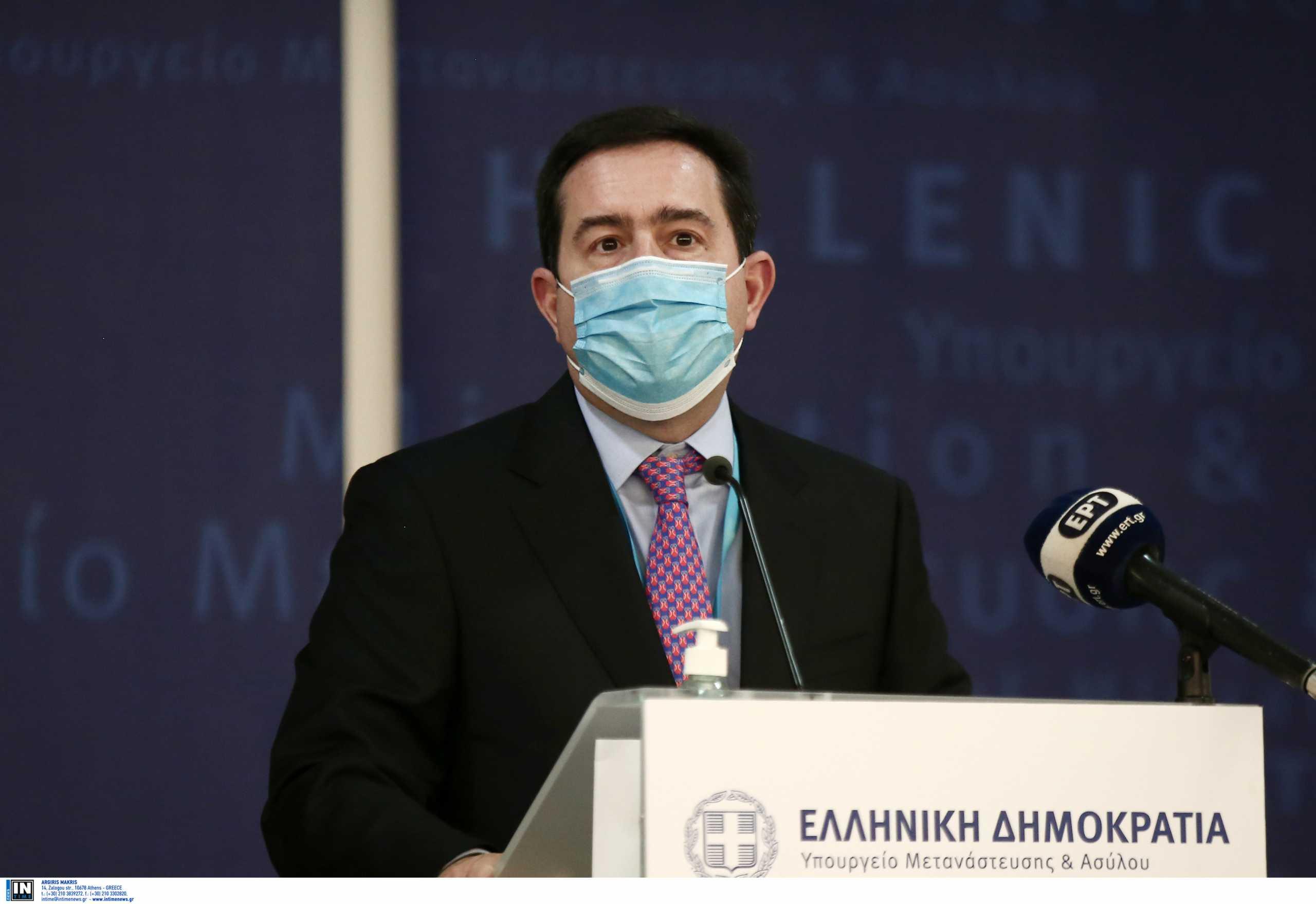 Ν. Μηταράκης: «Η Ελλάδα δεν επιτρέπεται να λειτουργεί ως χώρος στάθμευσης των ευρωπαϊκών προβλημάτων»