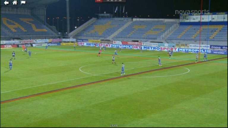 Αστέρας Τρίπολης – ΠΑΟΚ: Το ακυρωθέν γκολ του Κρμέντσικ (video)