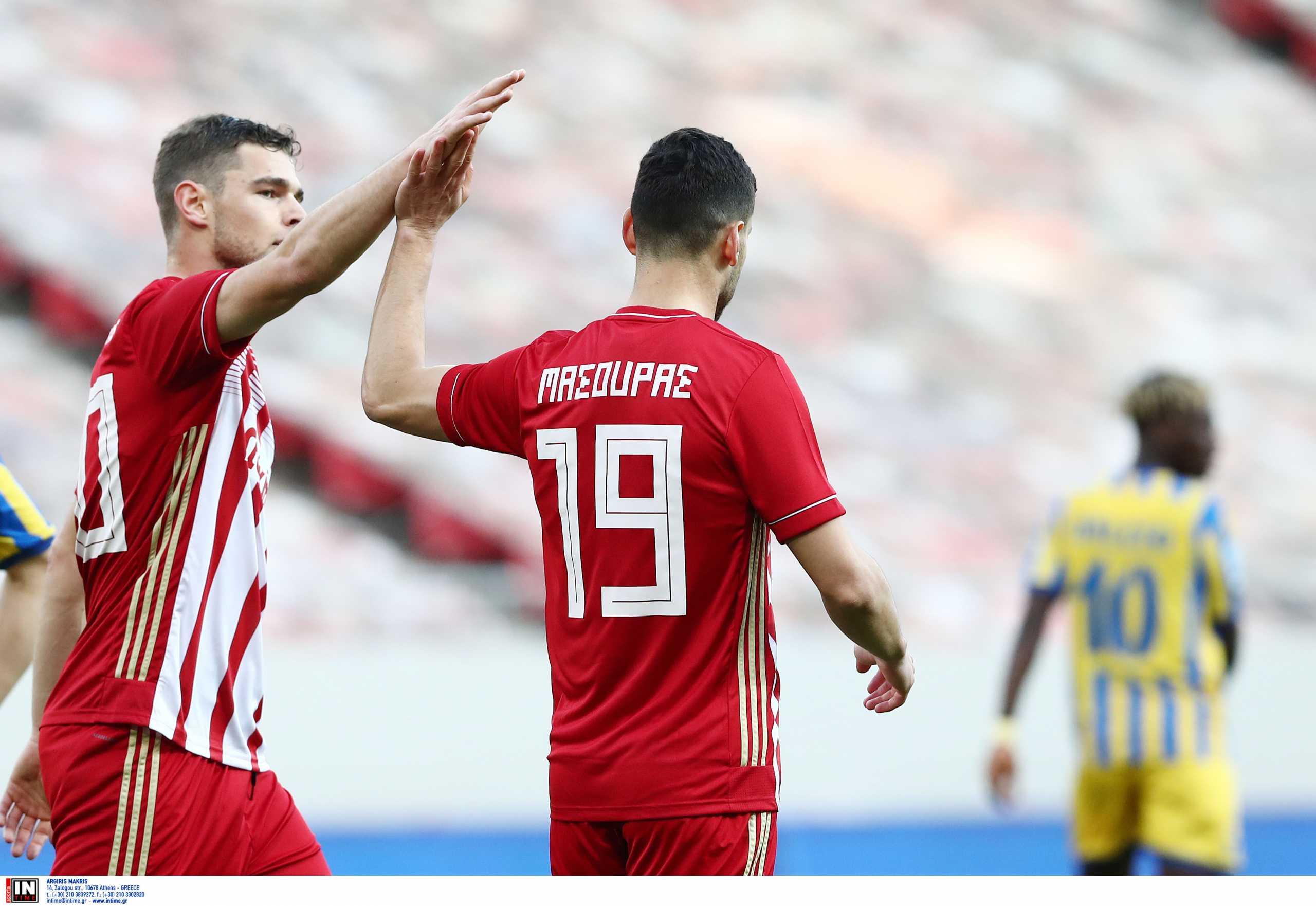 Ολυμπιακός – Παναιτωλικός 3-0 ΤΕΛΙΚΟ!