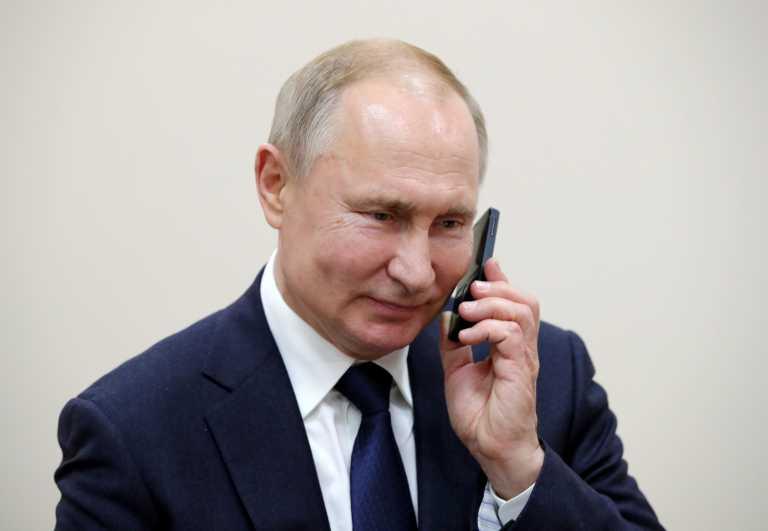 Πούτιν: Κάλεσε όλες τις πλευρές σε αυτοσυγκράτηση στη συνομιλία του με τον Πασινιάν