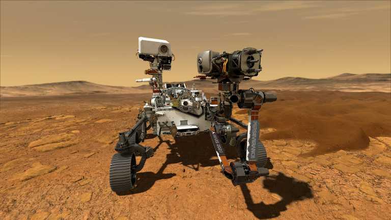 Perseverance: H πρώτη πανοραμική φωτογραφία 360 μοιρών από τον πλανήτη Άρη (vid)