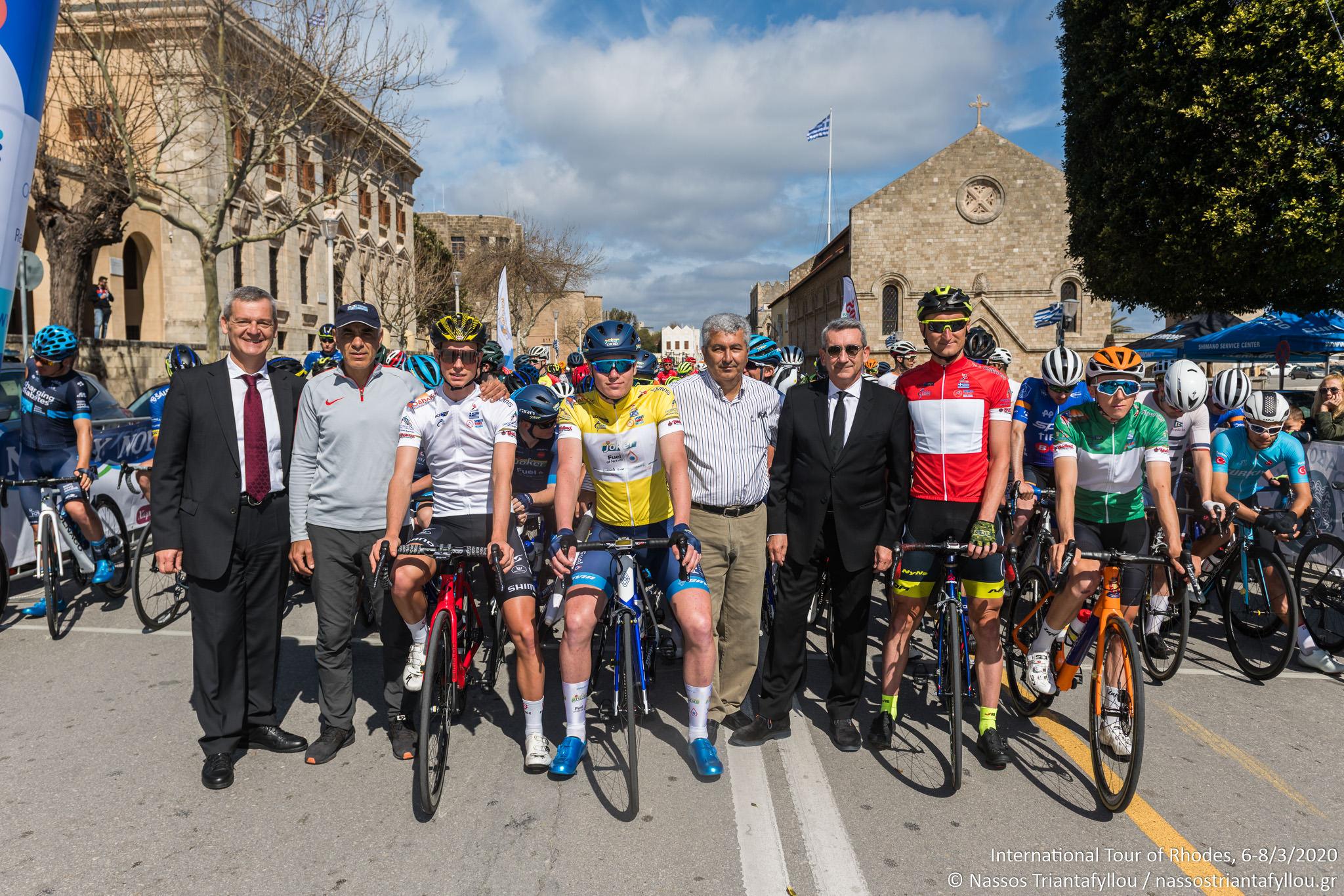 Σε όλα άριστα πήρε η Ελλάδα στη διοργάνωση των διεθνών αγώνων ποδηλασίας στη Ρόδο το 2020