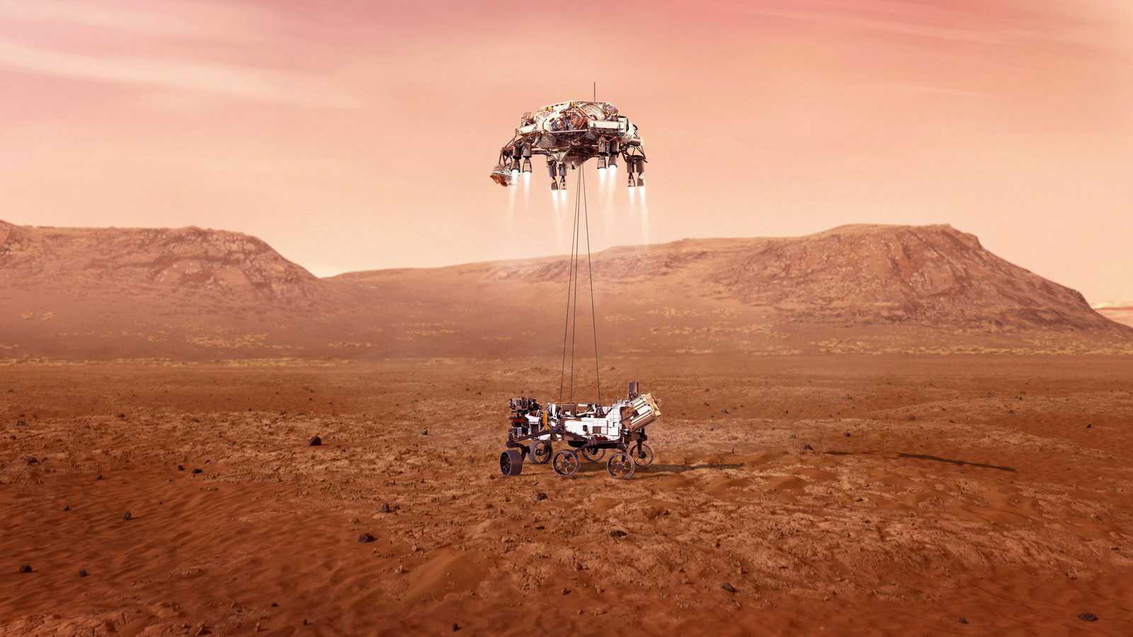 NASA: Το Perseverance προσεδαφίστηκε στον Άρη – Οι πρώτες εικόνες και τα «7 λεπτά τρόμου» (pics, vids)