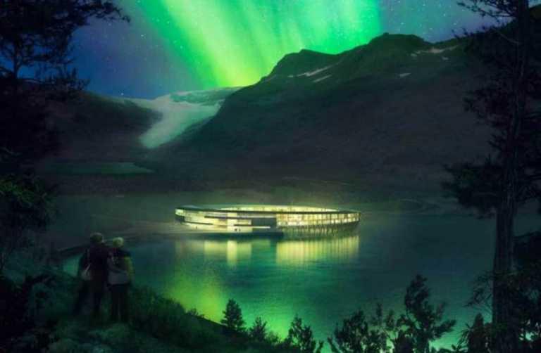 Το πιο εντυπωσιακό ξενοδοχείο στον κόσμο βρίσκεται στον Αρκτικό Κύκλο