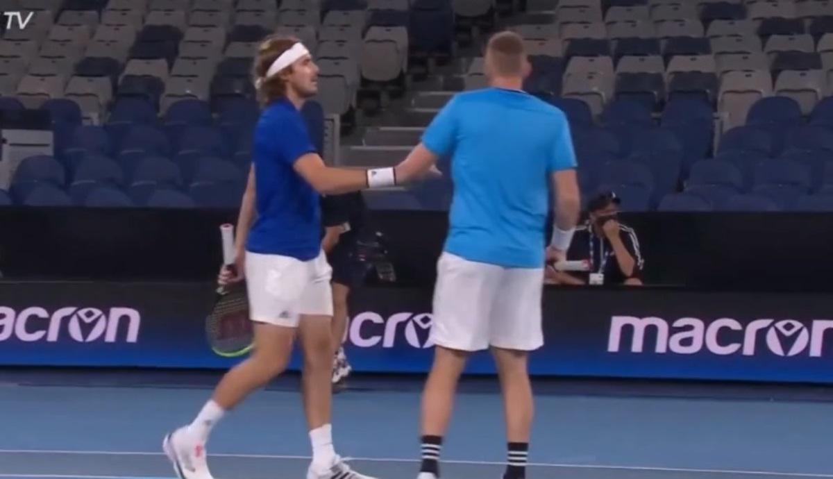 ATP Cup: Ιστορική νίκη για Ελλάδα αλλά και αποκλεισμός (video)