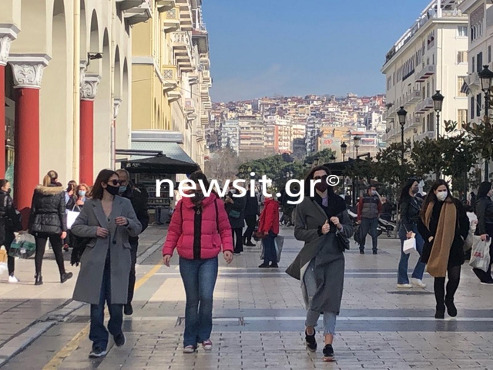 Θεσσαλονίκη: Κοσμοπλημμύρα σαν να μην υπάρχει αύριο – Ούτε «Black Friday» να ήταν (pics)