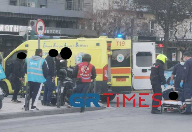 Και δεύτερο σοβαρό τροχαίο με μηχανή στη Θεσσαλονίκη – Τραυματίας ο οδηγός   (pics)