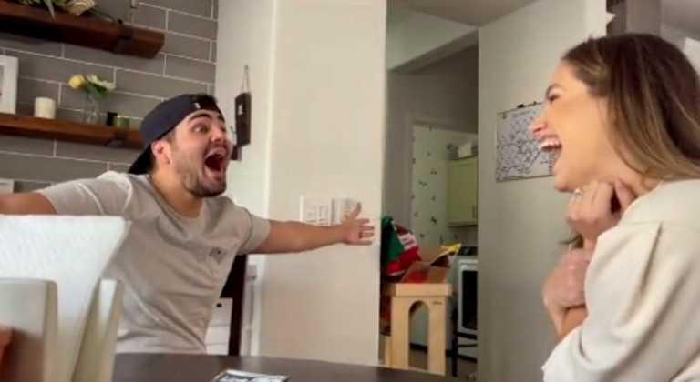 Έπαθε την πλάκα της ζωής του – Τρελά πανηγύρια on camera (video)