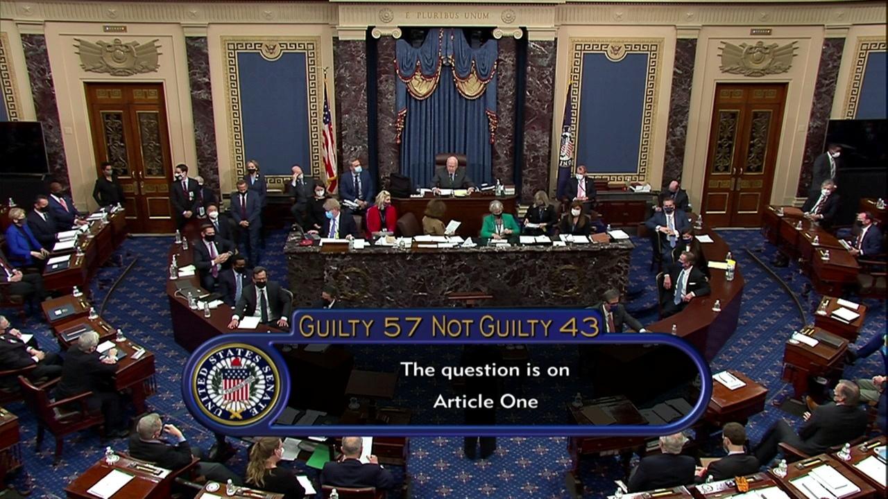 ΗΠΑ: Αθώος ο Ντόναλντ Τραμπ αποφάσισε η Γερουσία
