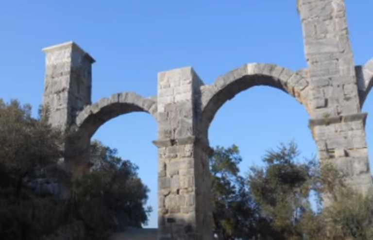 Λέσβος: Σοβαρά προβλήματα στο Ρωμαϊκό υδραγωγείο της Μόριας μετά το πέρασμα της κακοκαιρίας