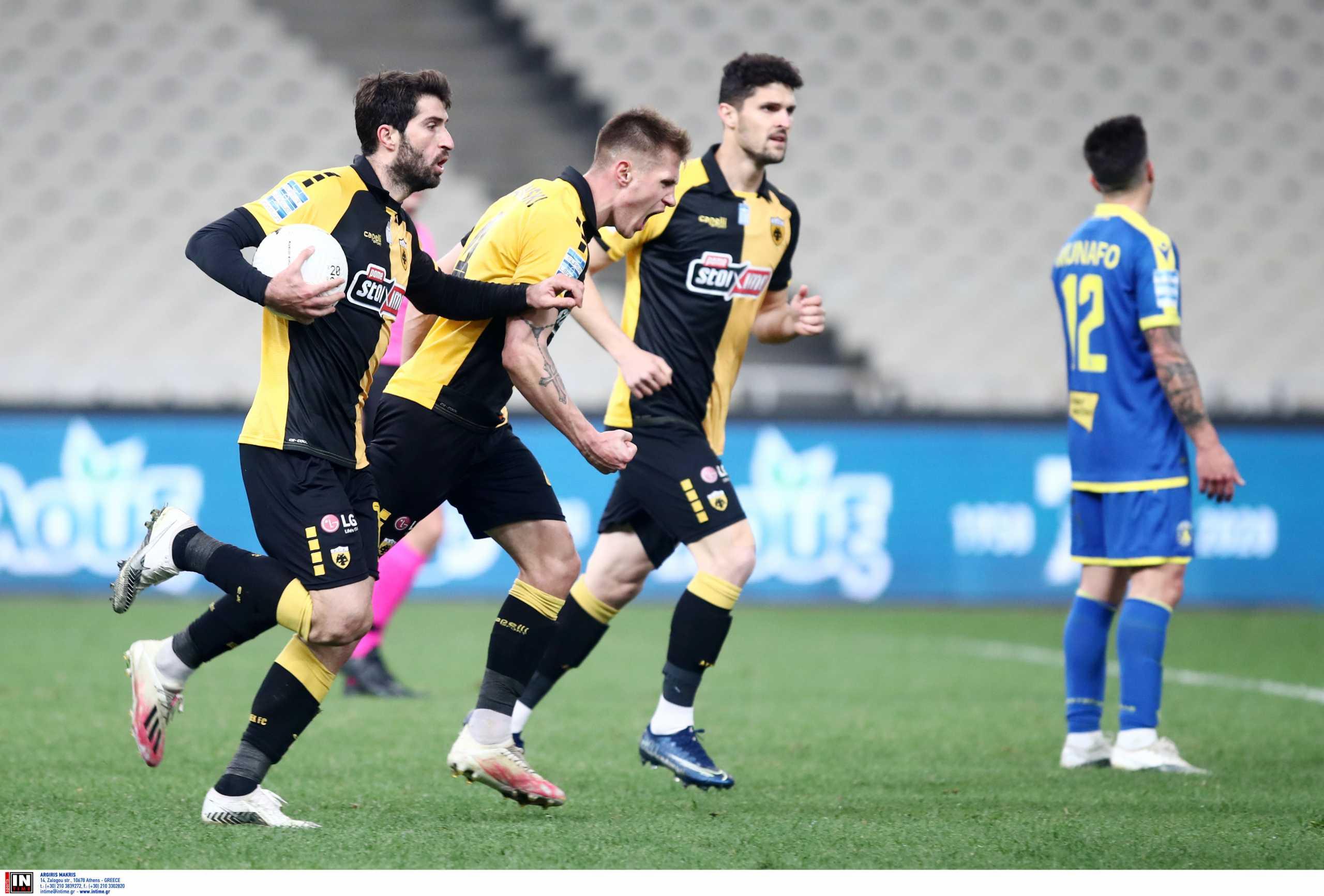 ΑΕΚ – Αστέρας Τρίπολης 2-2 ΤΕΛΙΚΟ!