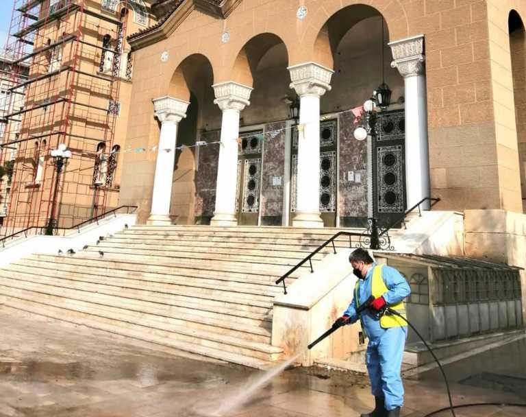 Δήμος Αθηναίων: Επιχείρηση απολύμανσης και καθαριότητας στον Άγιο Παντελεήμονα (pics)