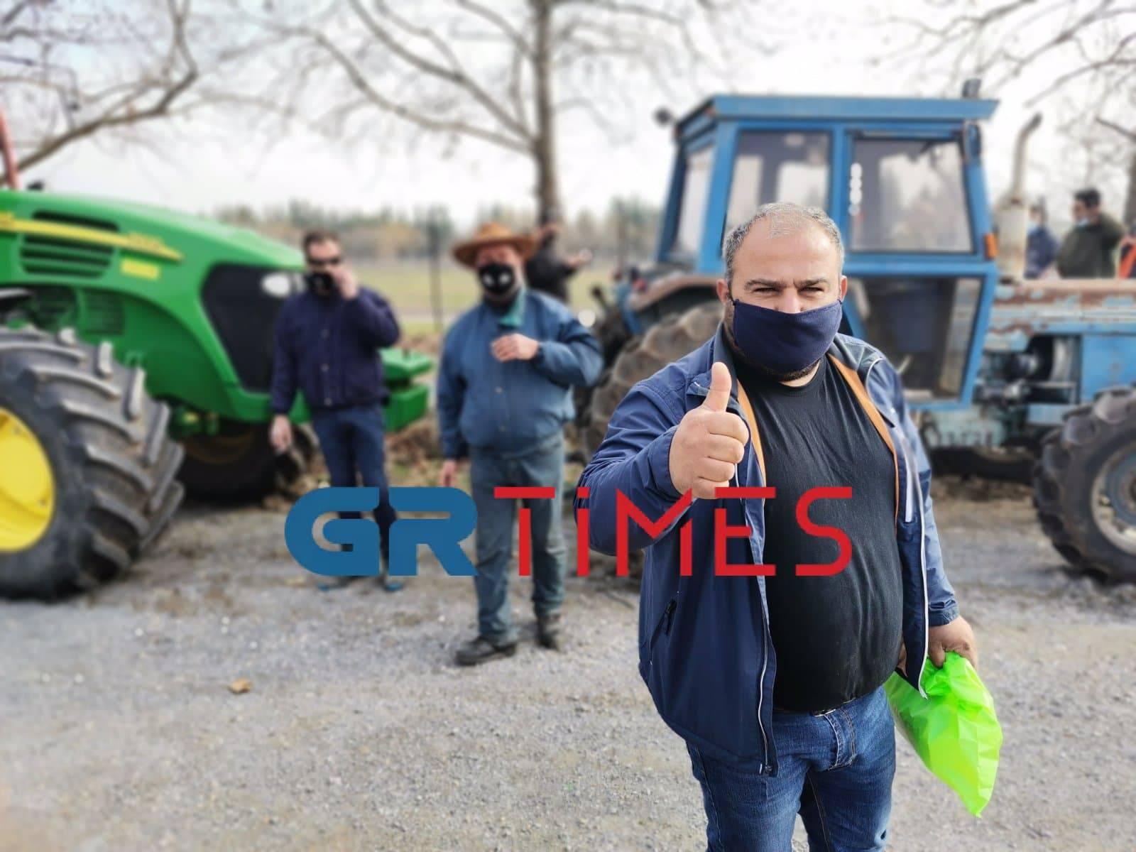 Γιαννιτσά: «Δεν είμαστε ζητιάνοι και θα το καταλάβουν» – Αγρότες έτοιμοι για όλα (pics)