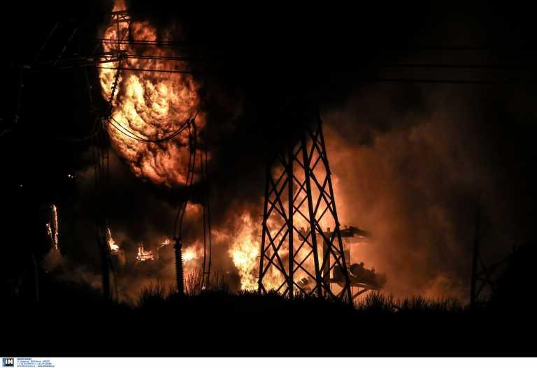 Ασπρόπυργος: Δύσκολη νύχτα από έκρηξη σε μετασχηματιστή – Χωρίς ρεύμα η μισή Αττική και η Πελοπόννησος