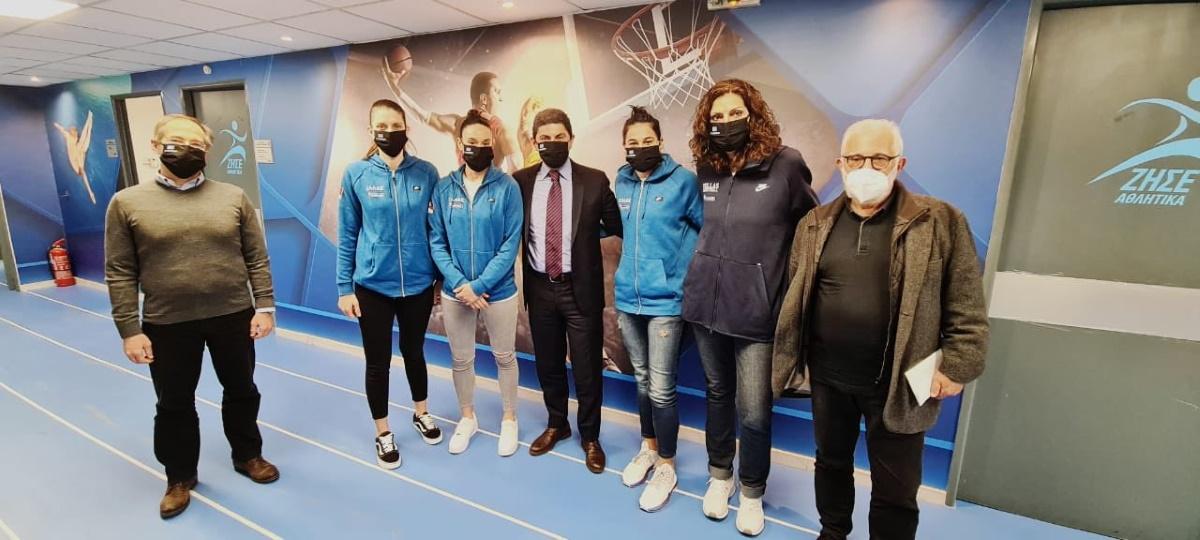 Αυγενάκης: «Πιέζουμε για να περάσει και η Α1 Γυναικών από τη φάση των προπονήσεων στους αγώνες»