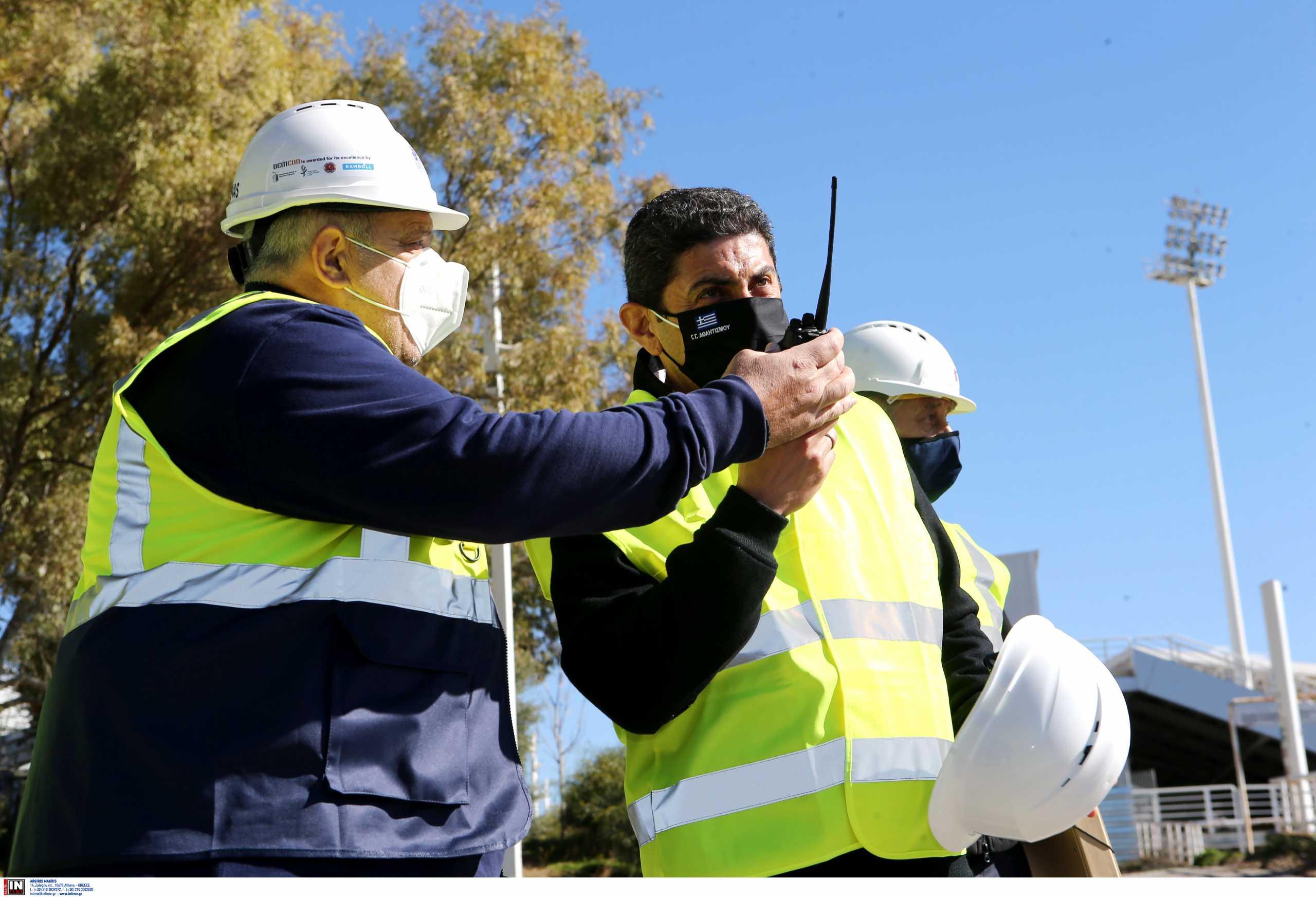 Αυγενάκης: «Στο ΟΑΚΑ φτιάχνουμε το μεγαλύτερο κέντρο υγρού στίβου στην Ευρώπη»