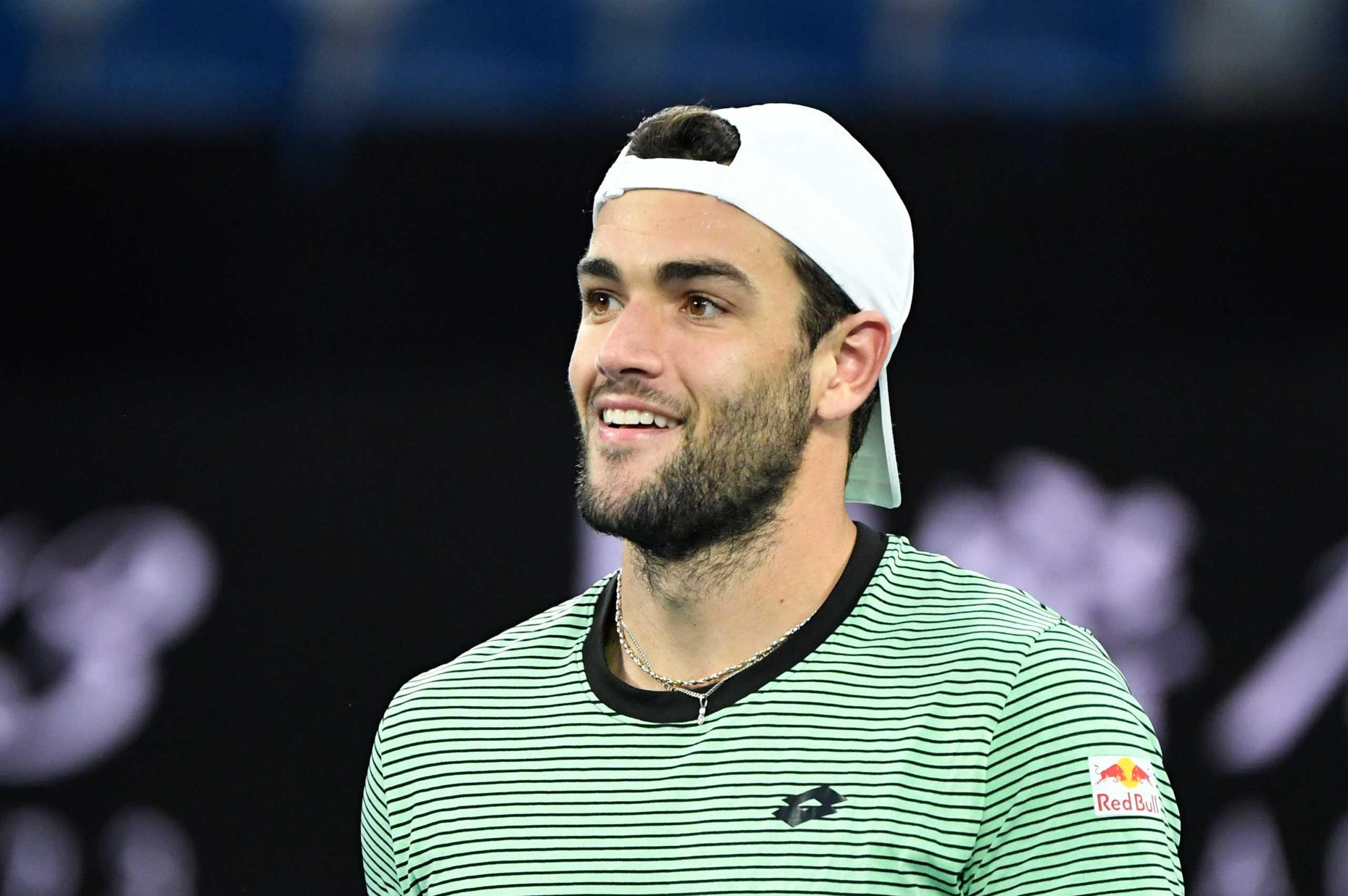 Τσιτσιπάς – Μπερετίνι στους «16» του Australian Open, σκόρπισε ανησυχία ο Ιταλός