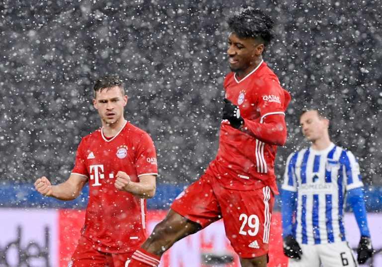 Bundesliga: «Ατσαλάκωτη» στα χιόνια η Μπάγερν Μονάχου (video)