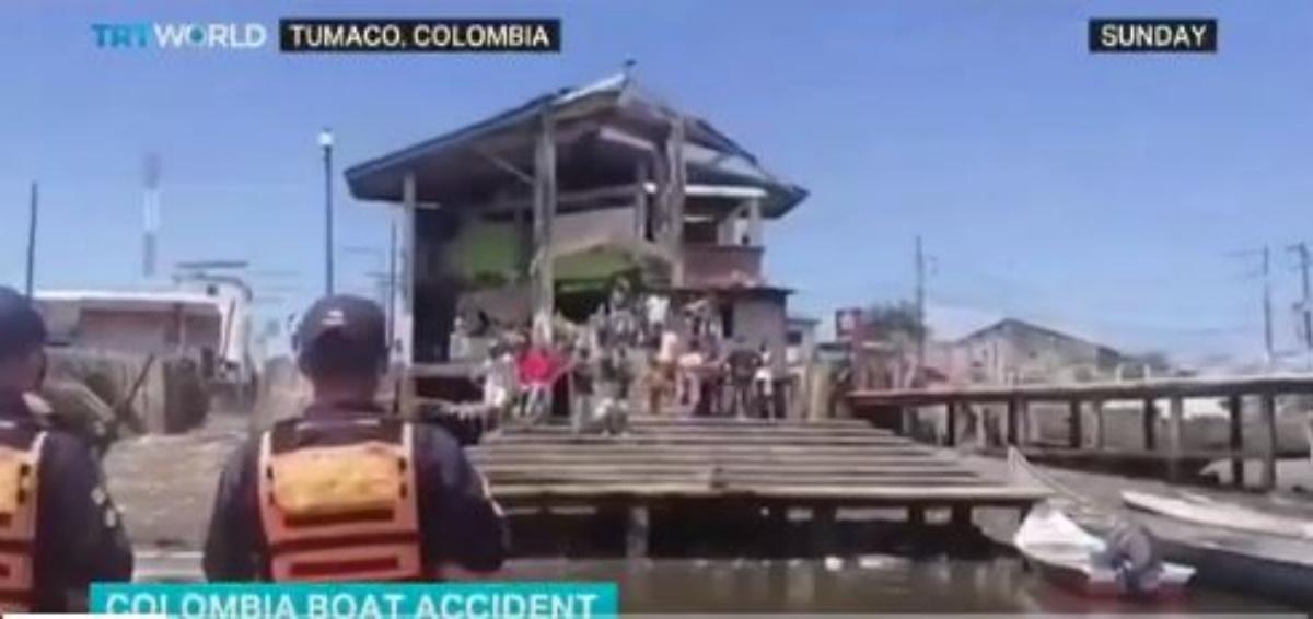 Τραγωδία στην Κολομβία: Δώδεκα νεκροί σε ναυάγιο δύο πλοίων – Ανάμεσά τους 7 παιδιά (vid)