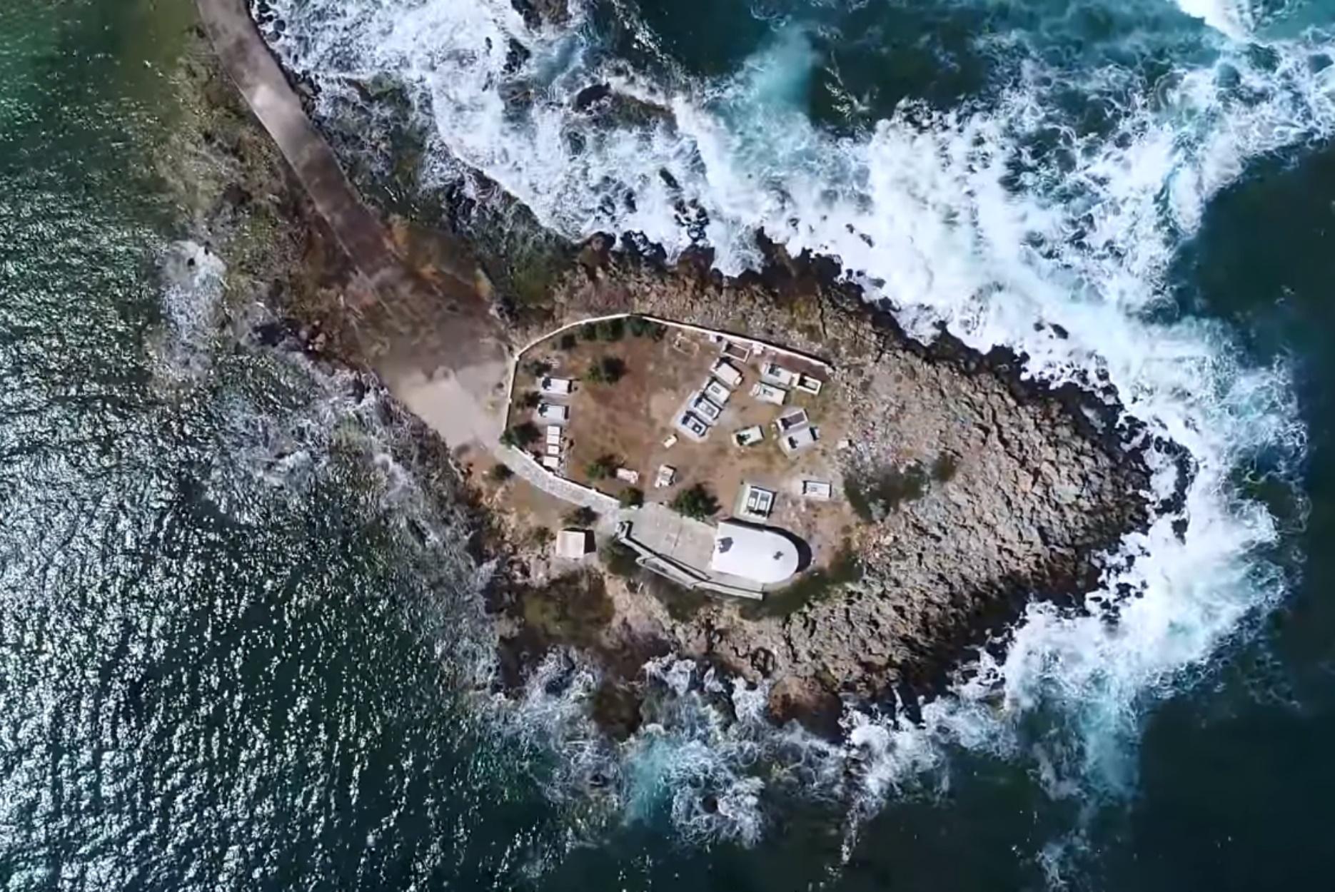 """Το πιο """"creepy"""" νησάκι της Ελλάδας – Άγιος Φωκάς Μονεμβασιάς"""