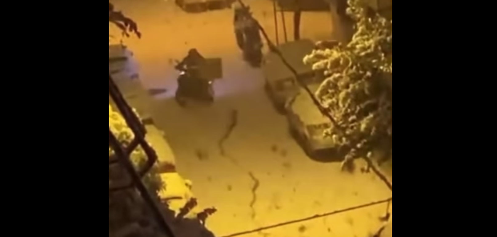 Ο delivery που πάλεψε με το χιόνι: το viral βίντεο που προκάλεσε οργή