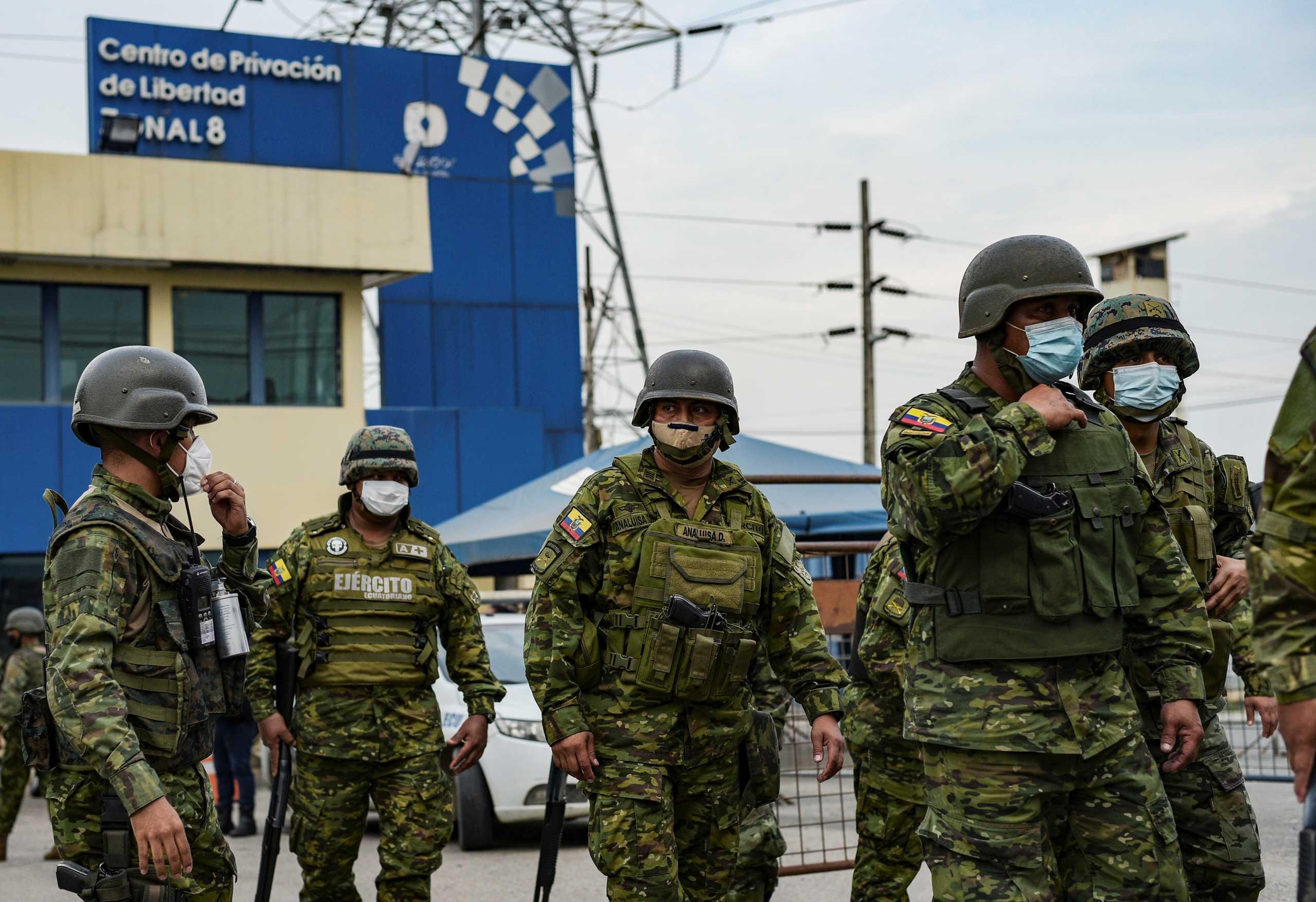 Εκουαδόρ: Πάνω από 60 οι νεκροί από τις εξεγέρσεις στις φυλακές (pics)