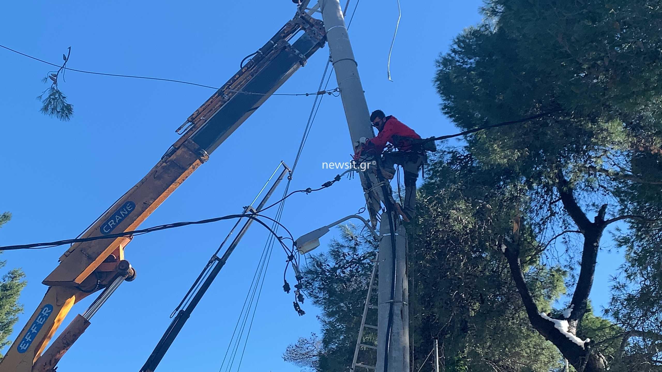 Απολογισμός σοκ από τον ΔΕΔΔΗΕ για την κακοκαιρία: 100.000 νοικοκυριά έμειναν χωρίς ρεύμα - 1.500 δέντρα έπεσαν στην Αττική
