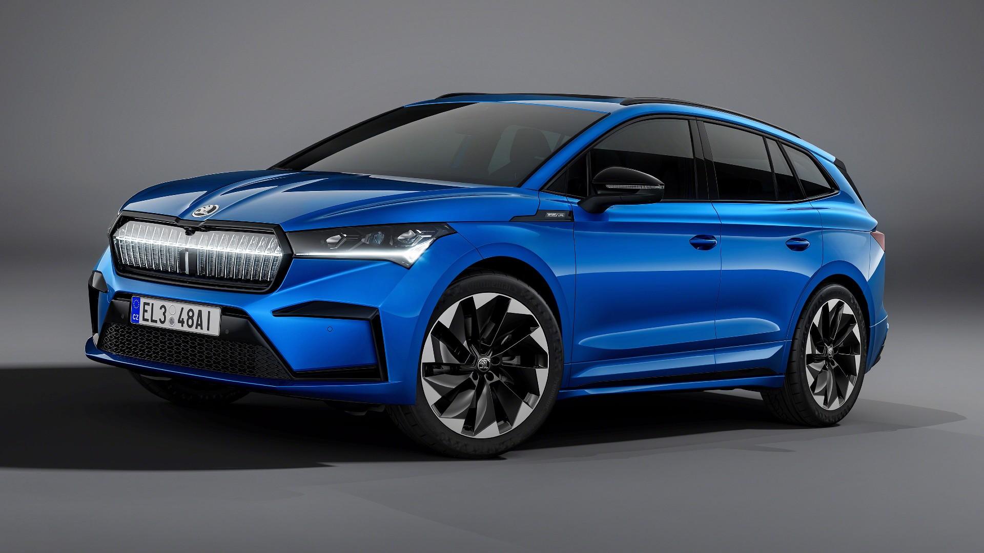 Skoda Enyaq iV Sportline: Και σπορ έκδοση για το νέο ηλεκτρικό SUV [pics]