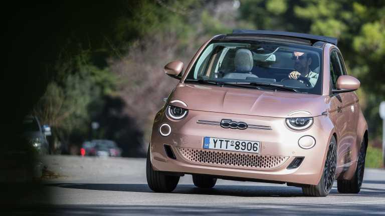 Δοκιμάζουμε το νέο -και αποκλειστικά ηλεκτρικό- FIAT 500 [pics]
