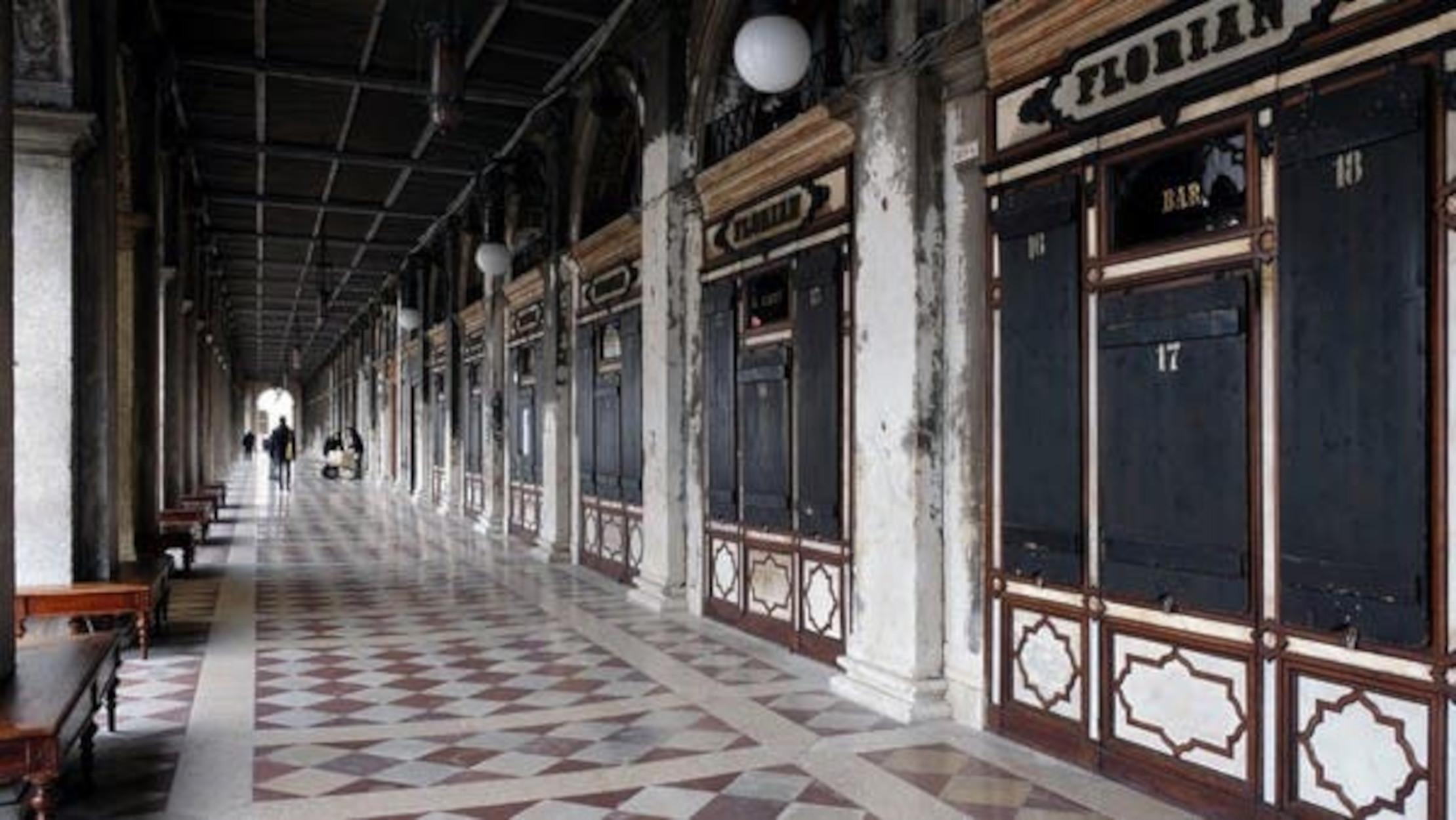 Βενετία: Προς χρεοκοπία το θρυλικό Caffe Florian που έκλεισε 300 χρόνια ζωής