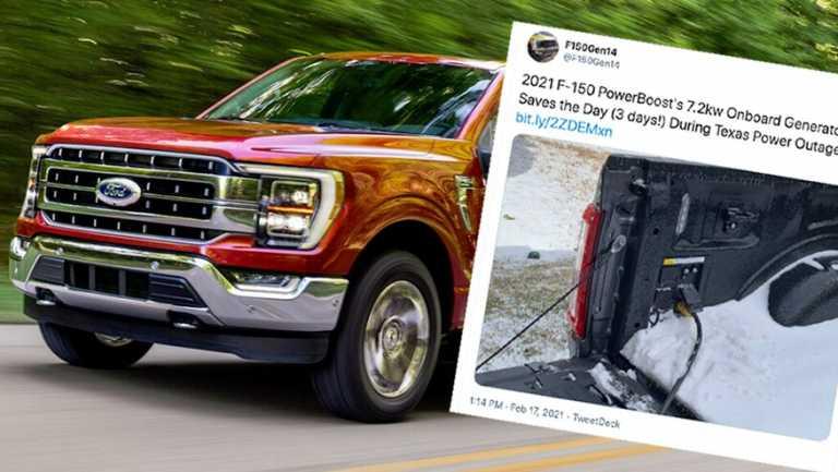 Στο Τέξας χρησιμοποιούν τα υβριδικά Ford για να δώσουν ρεύμα στα σπίτια τους!