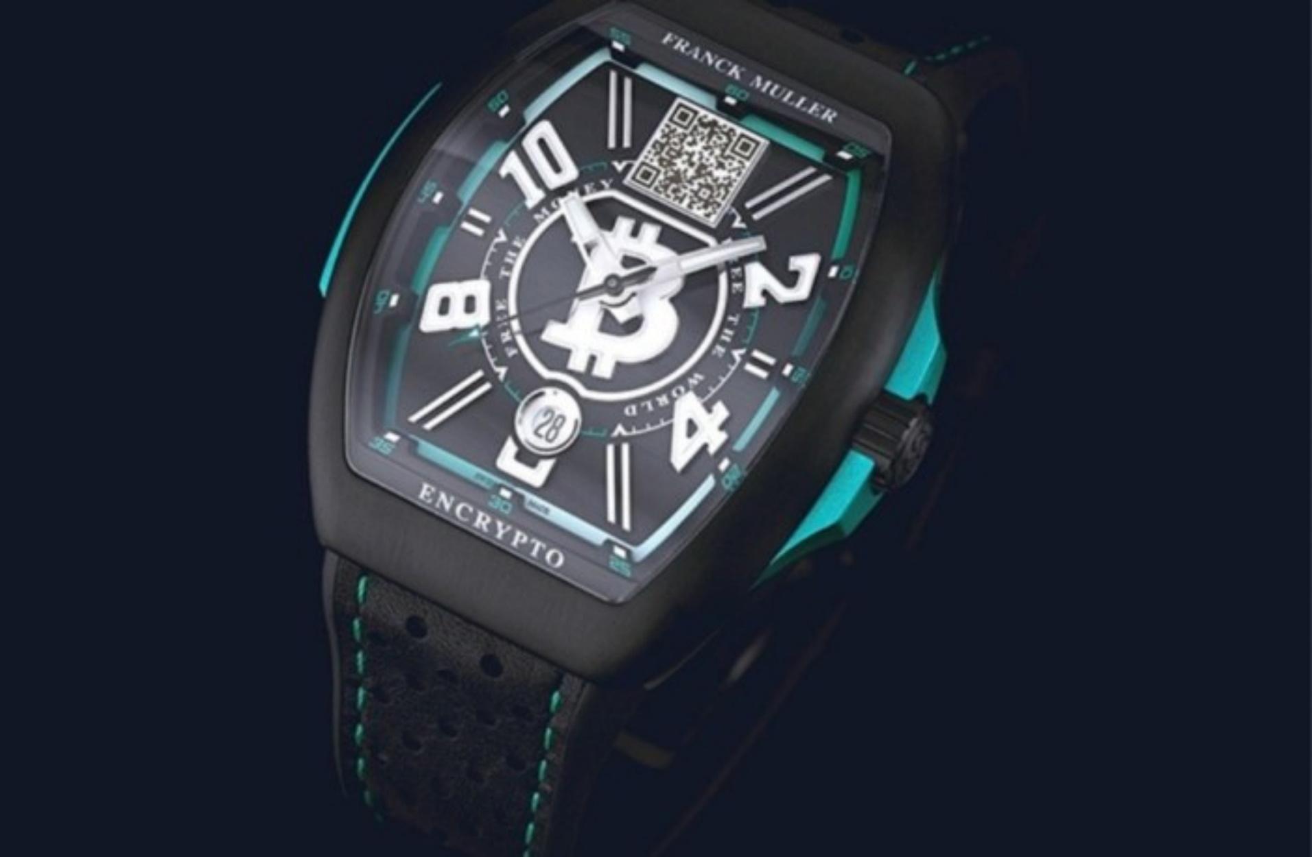 """Το νέο ρολόι του οίκου Franck Muller λειτουργεί σαν """"πορτοφόλι"""" για Bitcoin!"""