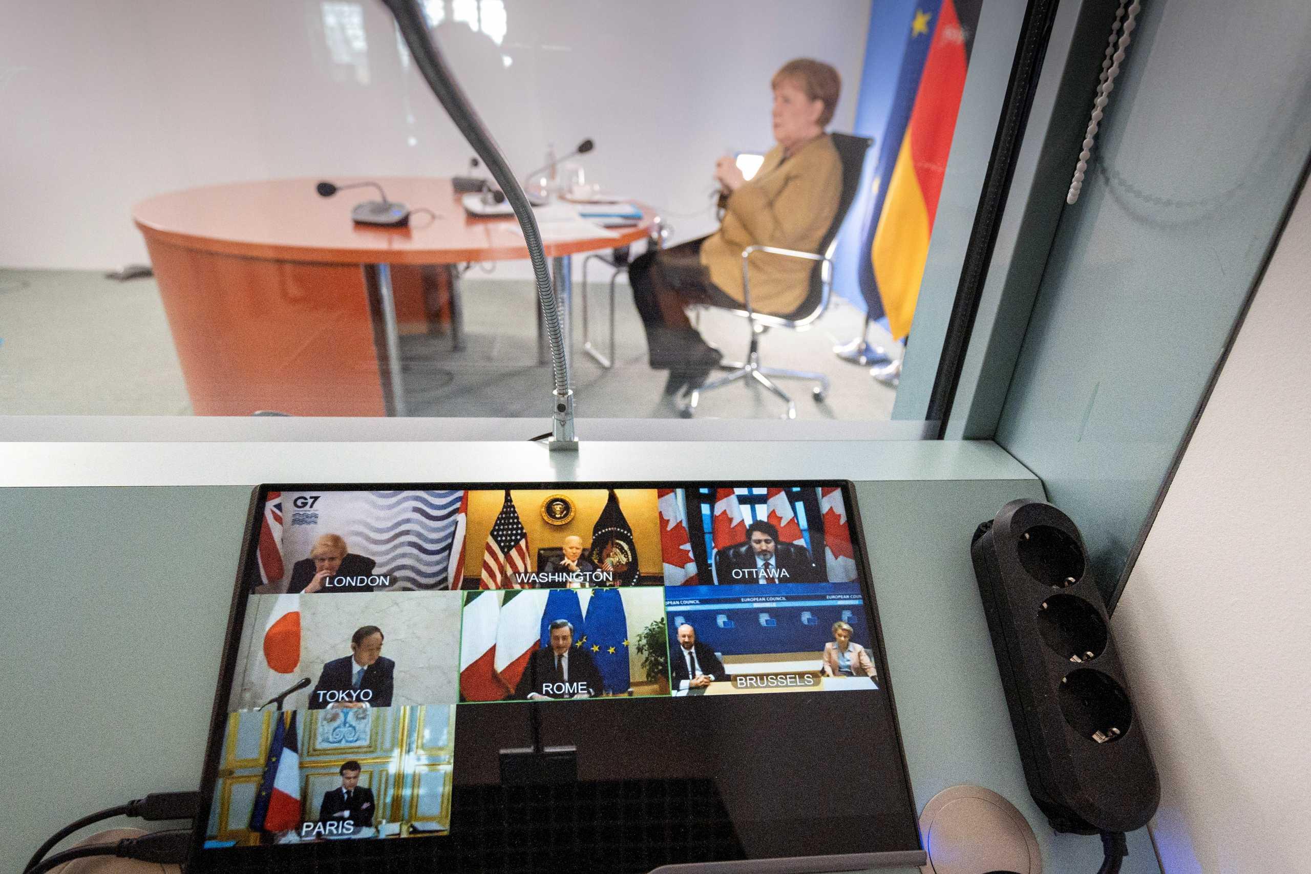 Τζόνσον σε Μέρκελ: «Άνγκελα κλείσε το μικρόφωνο» – «Κλάμα» στην G7