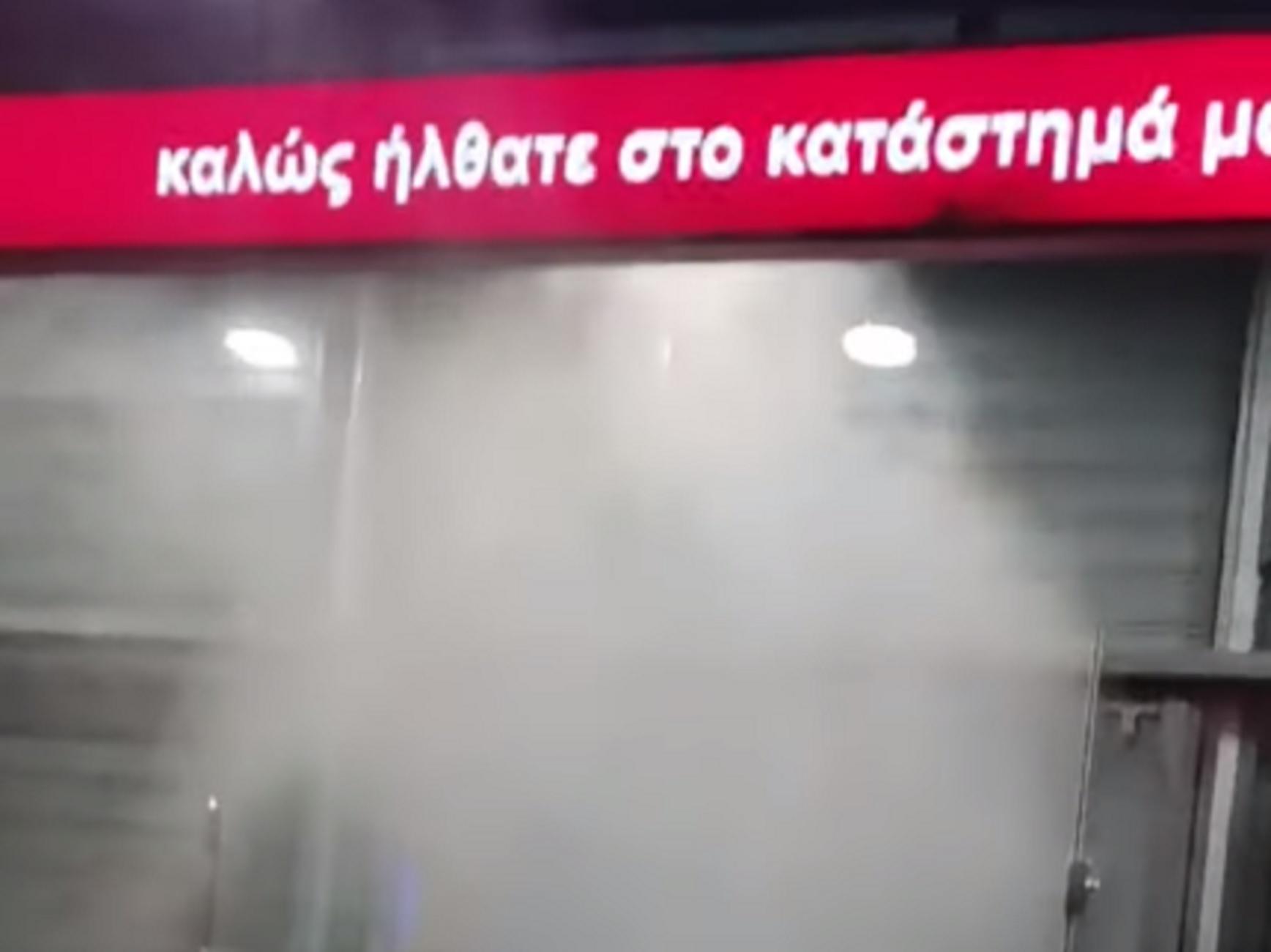 Θεσσαλονίκη: Προπέτασμα καπνού και συναγερμός σε γνωστό πολυκατάστημα για έναν απίστευτο λόγο (video)