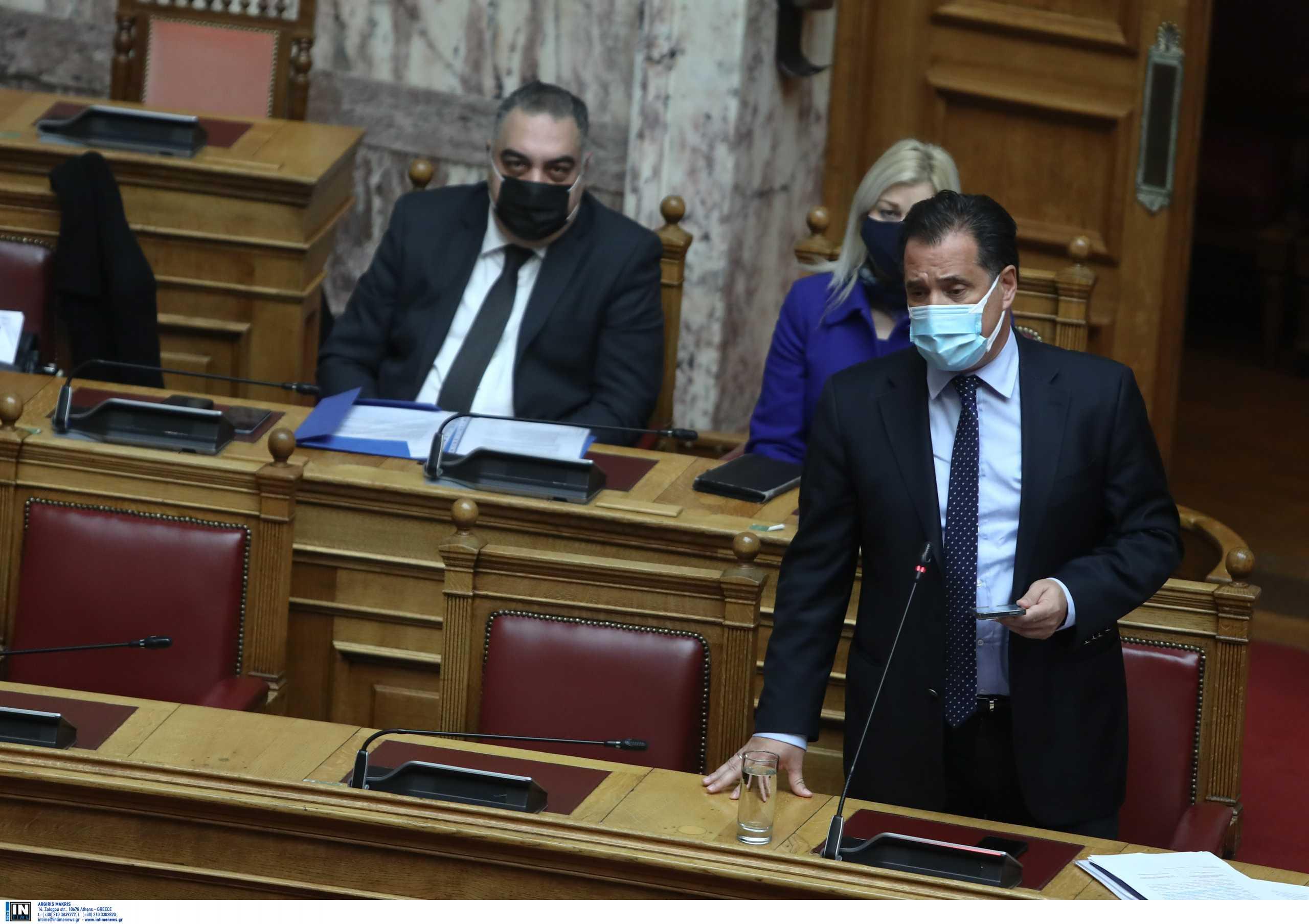 Ο Άδωνις Γεωργιάδης προανήγγειλε άνοιγμα των δεξιώσεων – Τι είπε για την εστίαση