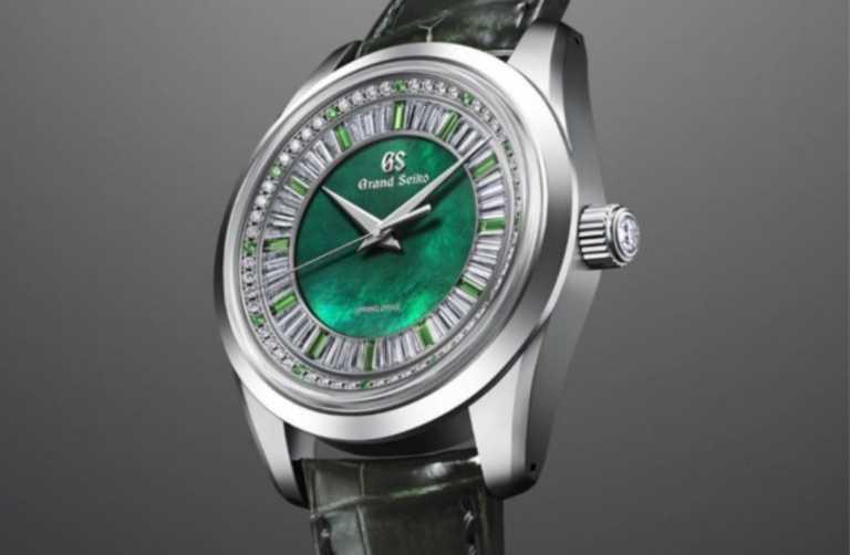 Το νέο ρολόι της Grand Seiko διαθέτει ένα καντράν που δεν θα αφήσει κανέναν ασυγκίνητο