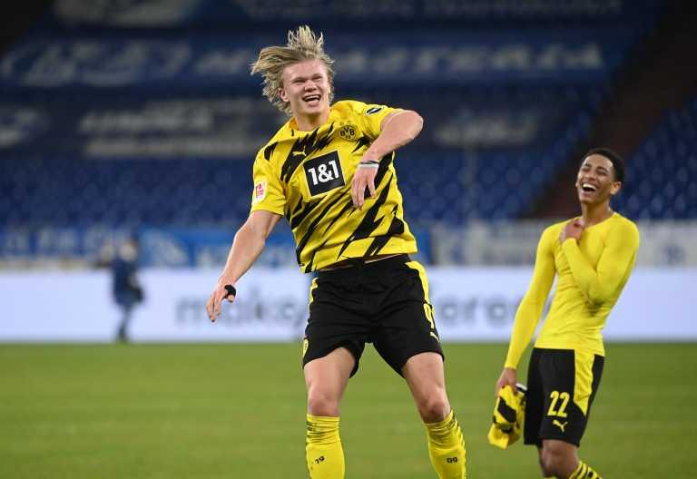 Bundesliga: «Βασιλιάς» Χάαλαντ στην «Κοιλάδα του Ρουρ» (video)