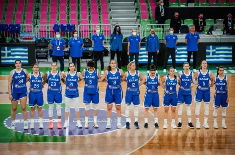 Εθνική Γυναικών: Οι αντίπαλοι της στο Eurobasket 2021