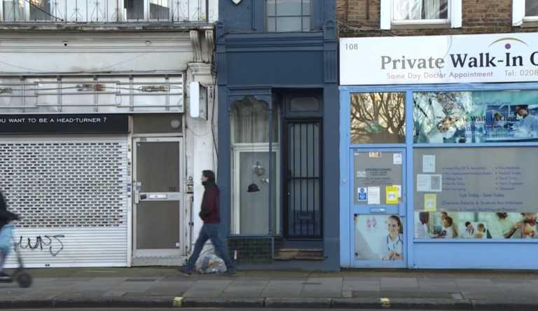 Λονδίνο: Σπίτι με πλάτος ούτε δυο μέτρα πωλείται για 1 και πλέον εκατομμύριο ευρώ (video)