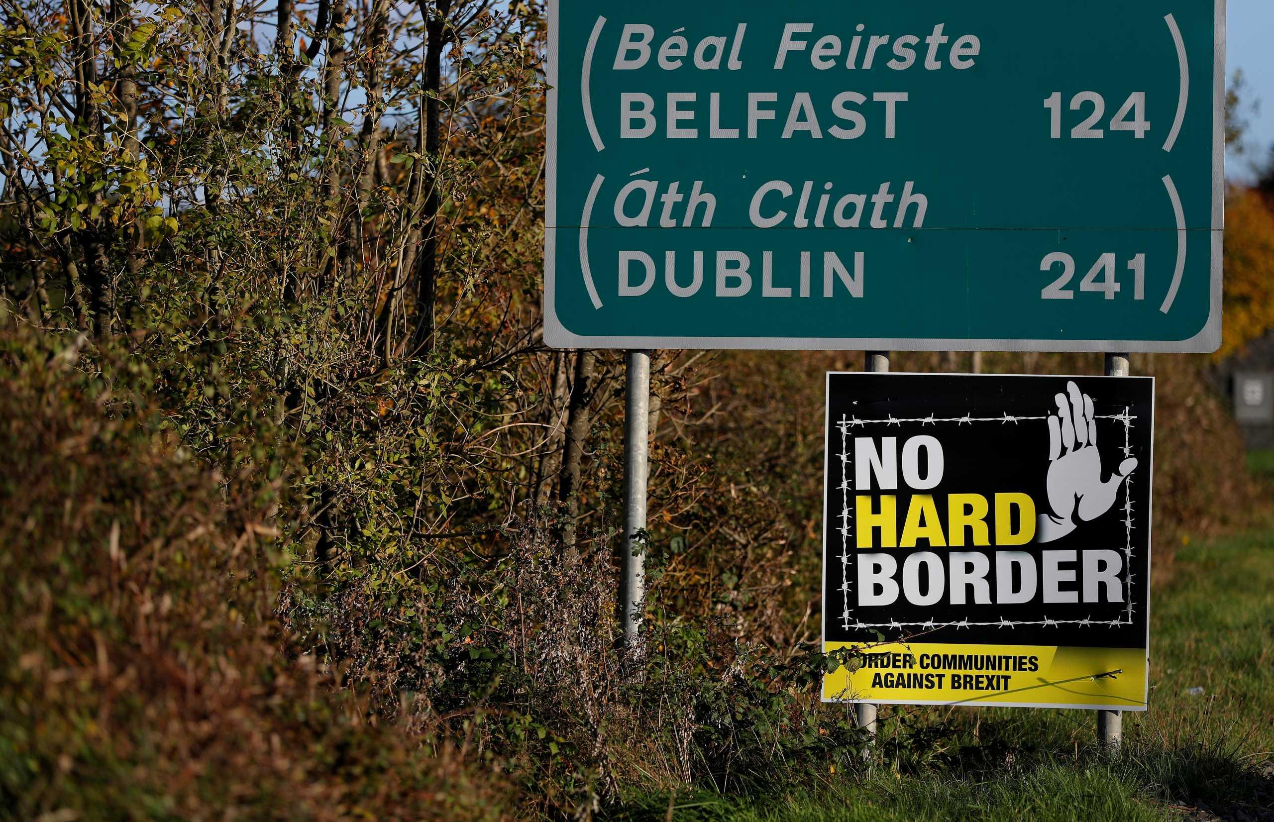 Brexit: Κίνηση καλής θέλησης από Ιρλανδία σε Βρετανία