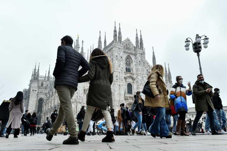 Ιταλία – Κορονοϊός: 14.931 κρούσματα και 251 θάνατοι – Λιγότερα εμβόλια παρέδωσε η AstraZeneca