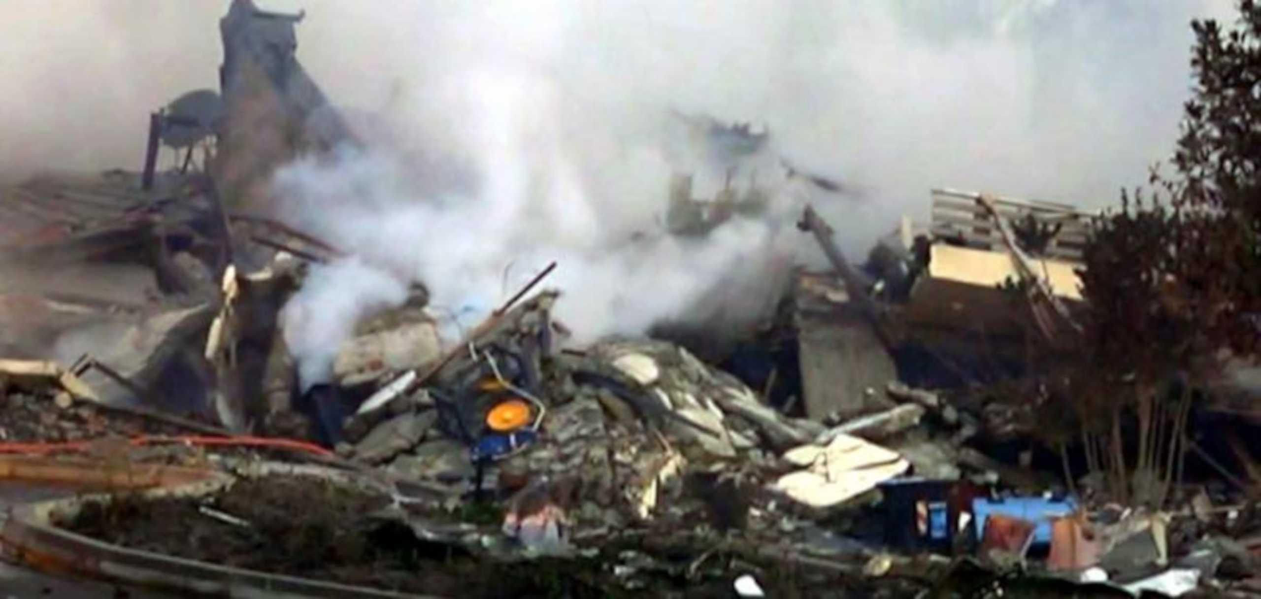 Καστοριά: Αυτή είναι η αιτία της έκρηξης – Τι δηλώνει ο ιδιοκτήτης του ξενοδοχείου που καταστράφηκε (video)