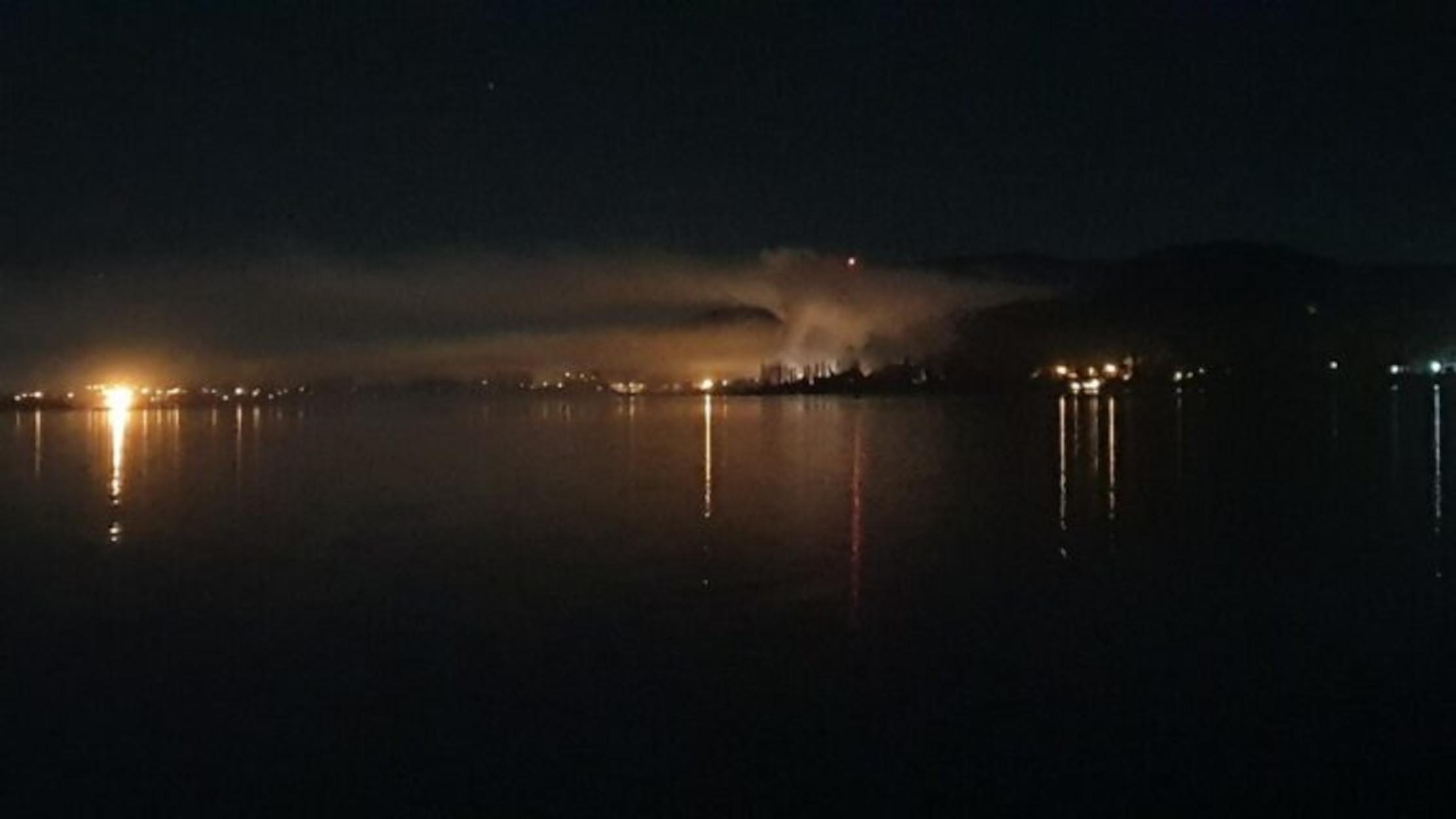 Η στιγμή που η σκόνη από την έκρηξη σκεπάζει την Καστοριά – Δείτε το ξενοδοχείο πριν την ισοπέδωση (pics)