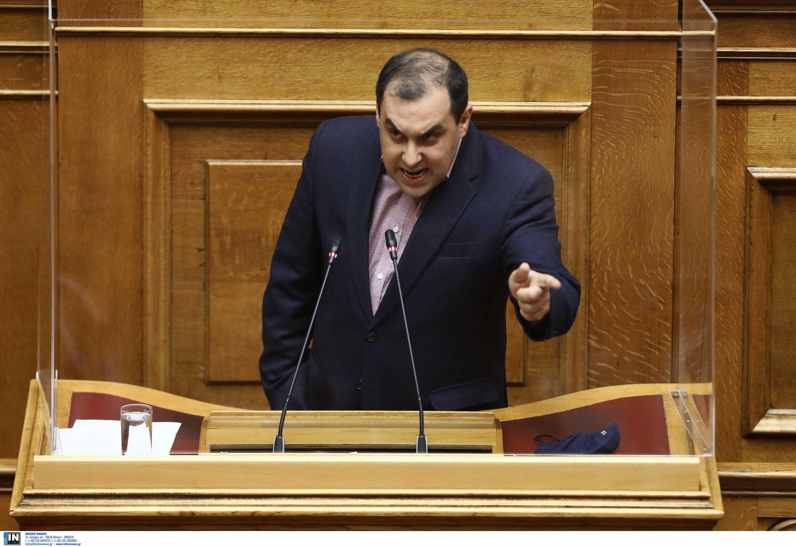 Ξέσπασμα Κατσαφάδου στη Βουλή: «Ο τρομοκράτης γιος βουλευτή του ΣΥΡΙΖΑ»