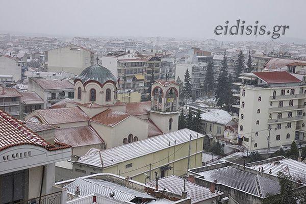 Καιρός – Κιλκίς: Χιόνια και τσουχτερό κρύο – Η Μήδεια έκλεισε τους κατοίκους στα σπίτια τους (video)