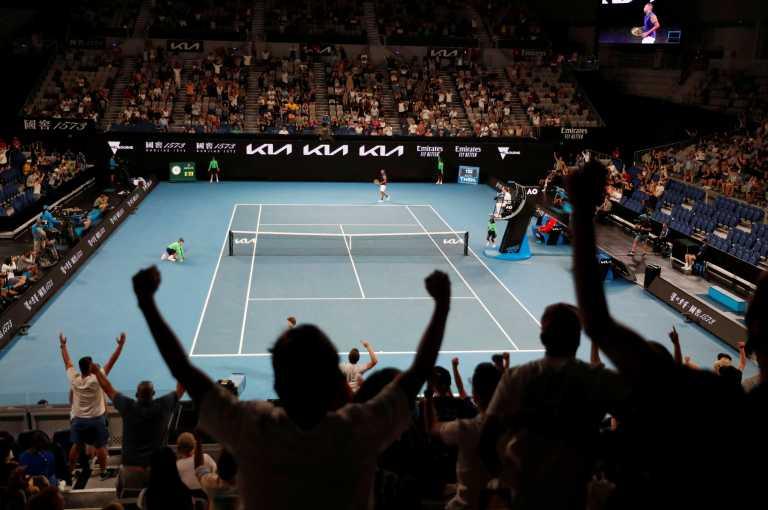 Australian Open: Ξέσπασαν οι Αυστραλοί στον τελευταίο πόντο του Κύργιου (video)