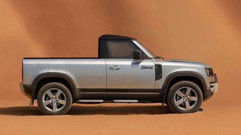 H Land Rover ετοιμάζει έκδοση pick-up για το νέο Defender!