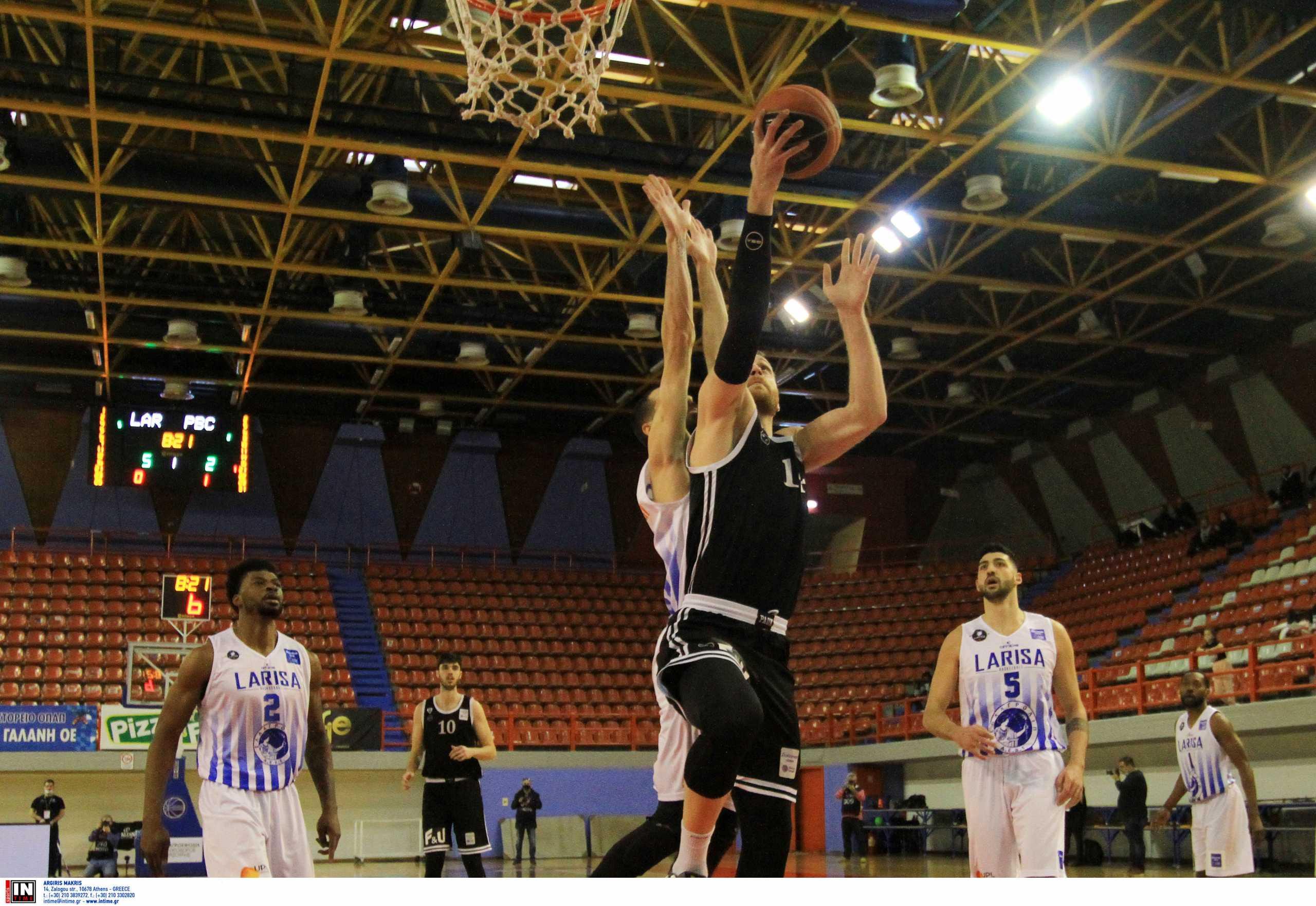 Basket League: Νέο σοκ για Ηρακλή, πήρε το θρίλερ με Λάρισα ο ΠΑΟΚ (video)