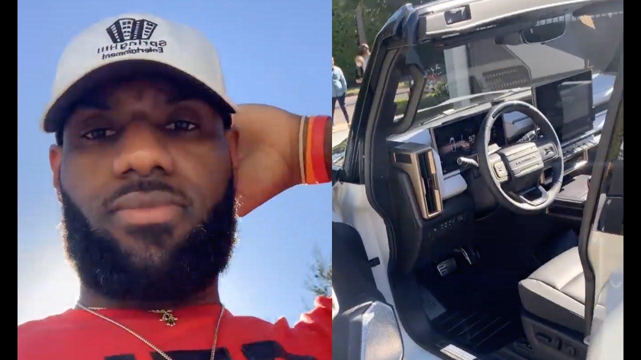 Με πιο αυτοκίνητο έπαθε πλάκα ο «βασιλιάς» του NBA, Λεμπρόν Τζέιμς; [vid]